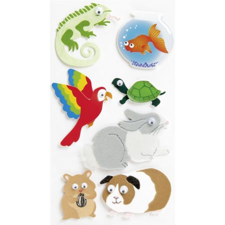 Sticker Animaux familiers