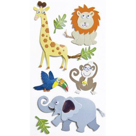 Sticker Animaux du zoo