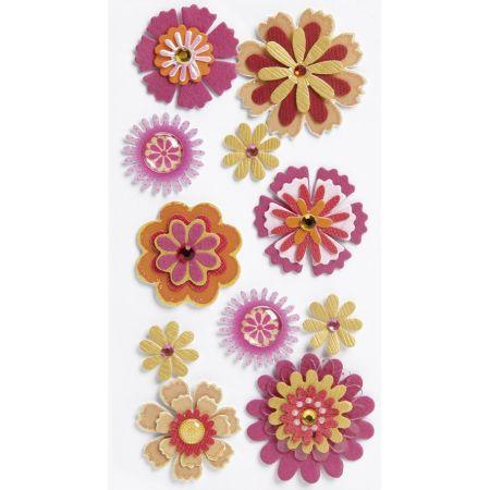 Sticker Mélange de fleurs