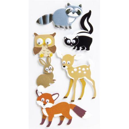 Sticker Habitants forêt