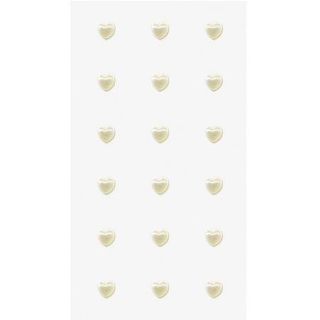 Sticker perle Coeurs grands