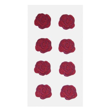Sticker textile Roses rouges