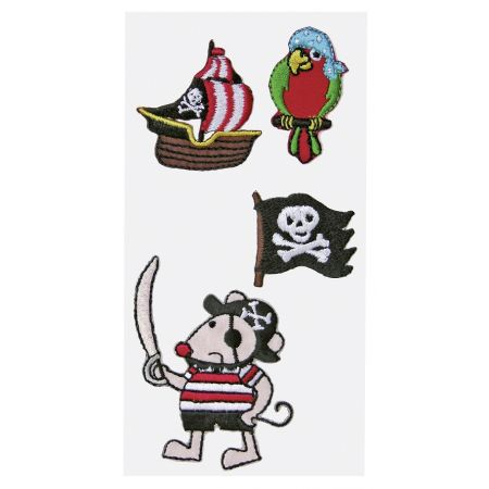 Sticker textile Pirates