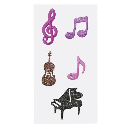 Sticker textile Musique