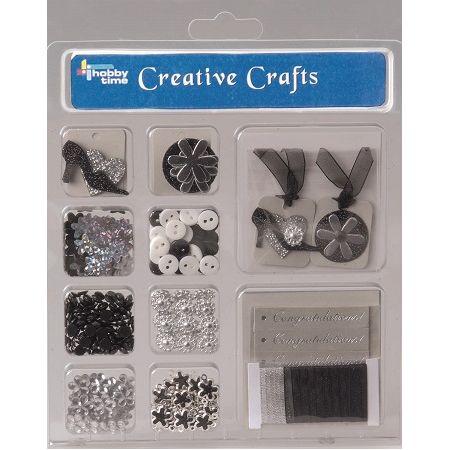 Kit créatif Félicitations noir