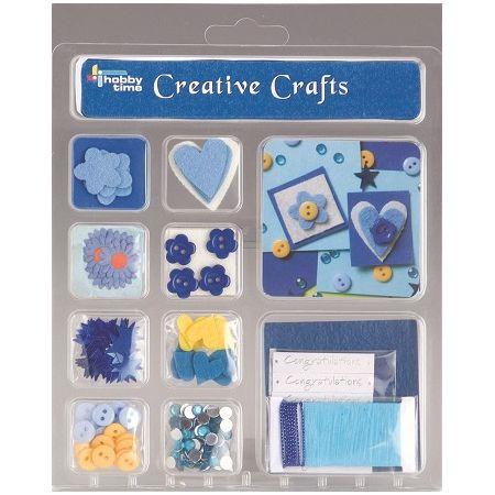 Kit créatif Félicitation bleu