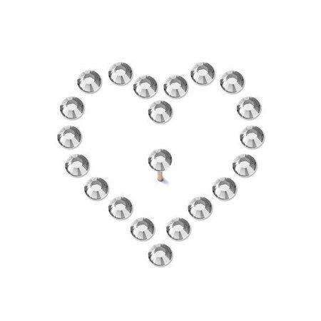 Pin's brillant crystal 2,8mm