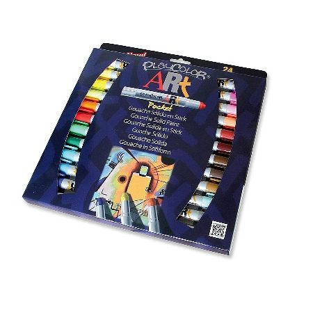 PlayColor Art Pocket boîte de 24 gouaches solide