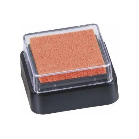Mini coussin encreur 3x3cm orange