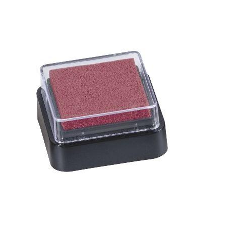 Mini coussin encreur 3x3cm rouge