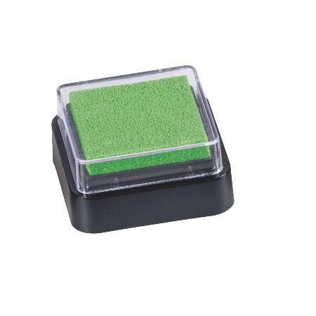Mini coussin encreur 3x3cm vert