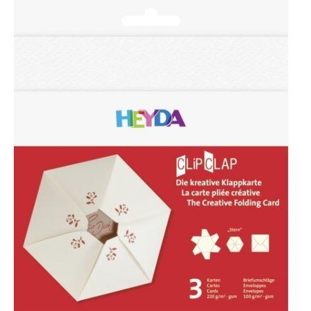 Set de cartes ClipClap étoile