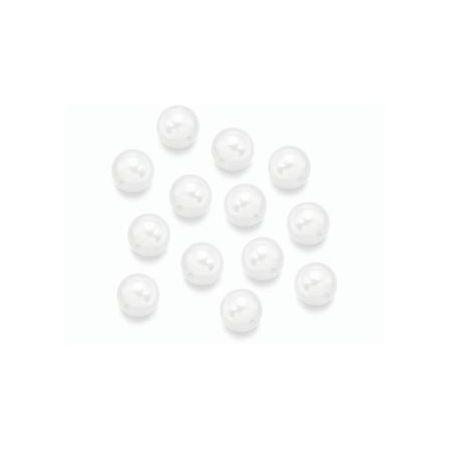 Perle en cire blanche 6mm