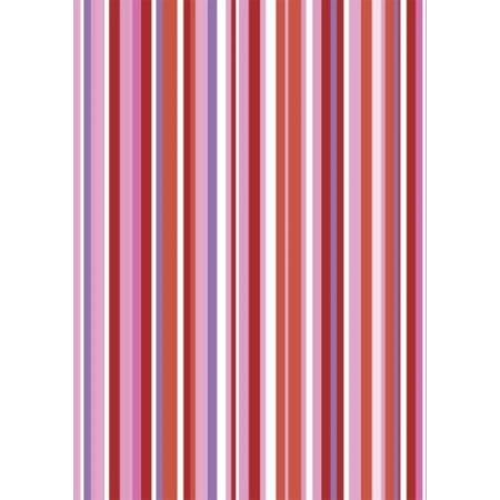 Carton Linus50x70cm rouge