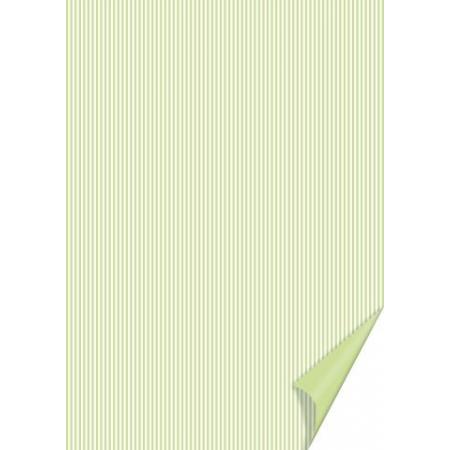Carton à rayures 21x31 200g pistac