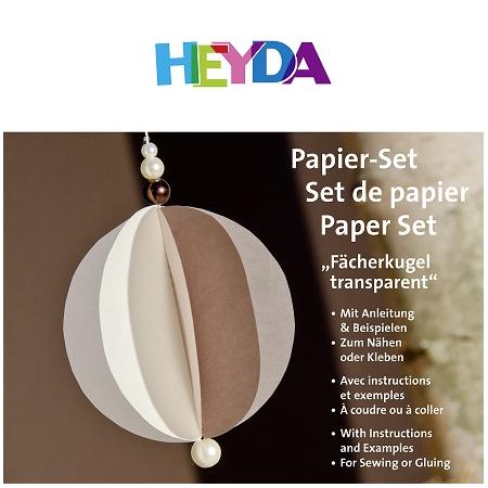 Set de papier Boule transparente