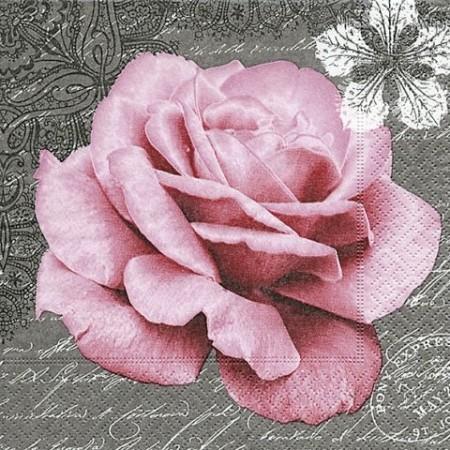 Serv.Rose of love33x33cm20pc