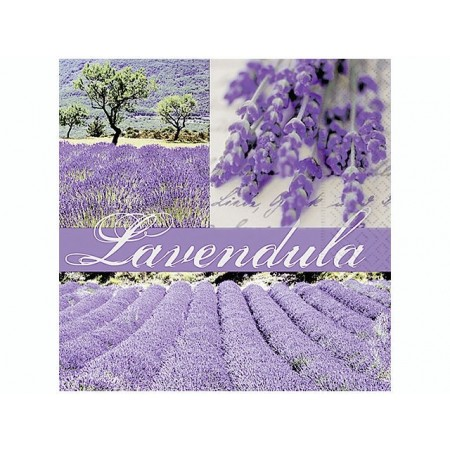 Serviettes Dreams of lavender 20pc