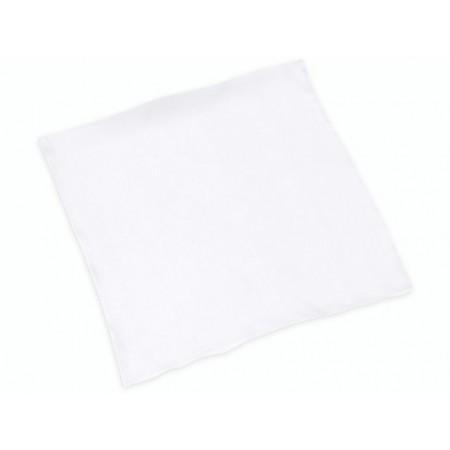 Carré soie 45x45cm 21g/m² blanc