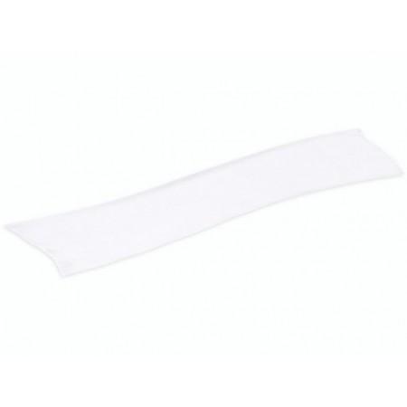 Foulard soie180x45cm 16g/m² blanc