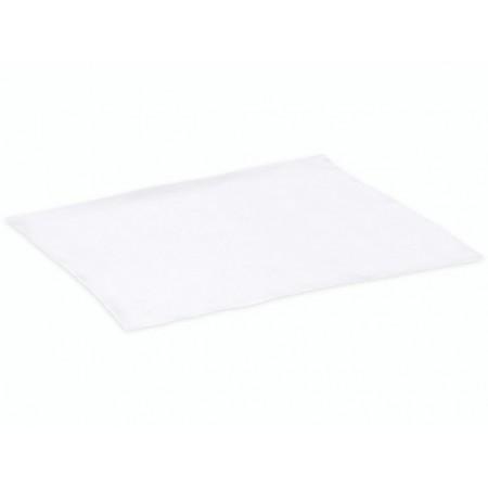 Carré soie 90x180cm 21g/m² blanc