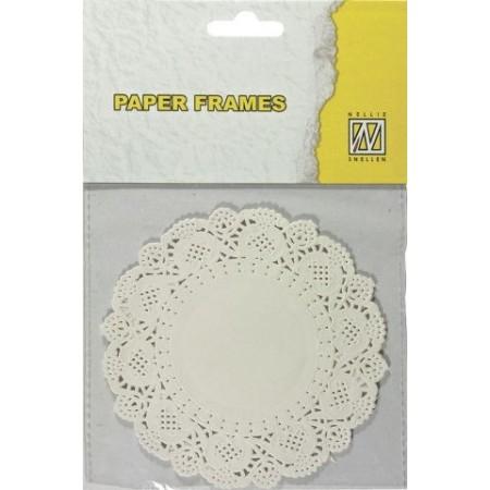 Napperons papier ronds 11,5 cm