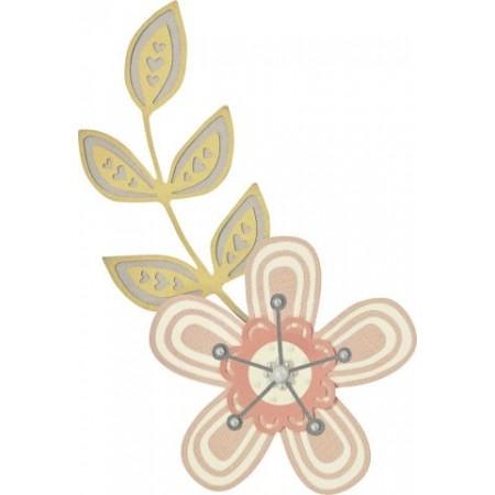 ThinlitsDieSet Intricate Garden Flower