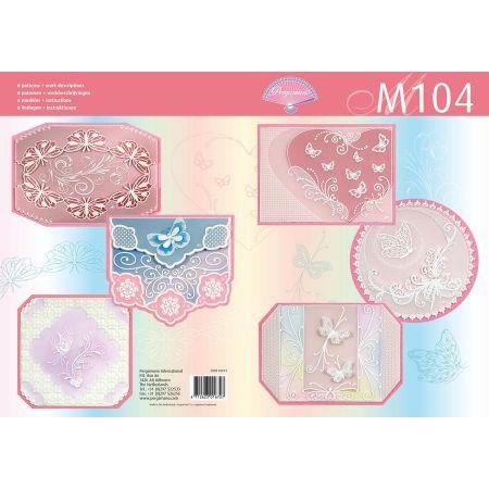 Livre motif M104 Papillons