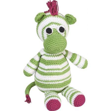 Kit animal en crochet Zèbre