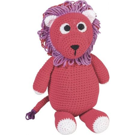 Kit animal en crochet Lion