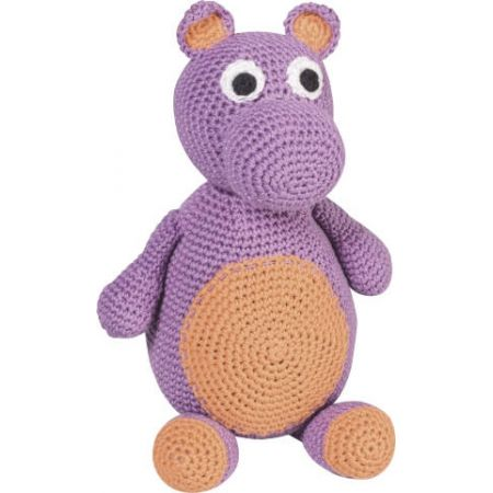 Kit animal en crochet Hippopotame