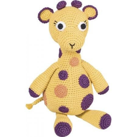 Kit animal en crochet Girafe