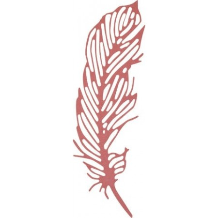 Thinlits Die Set Delicate Feather