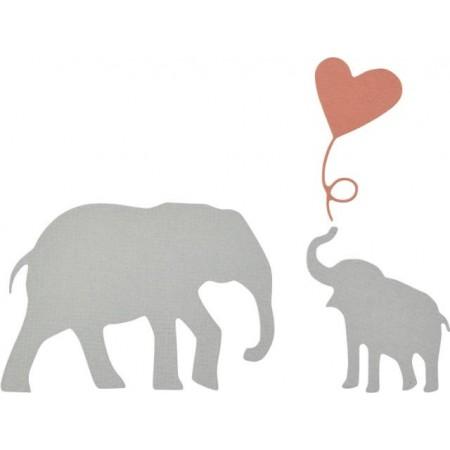 Thinlits Die Set Baby Elephant 3pces
