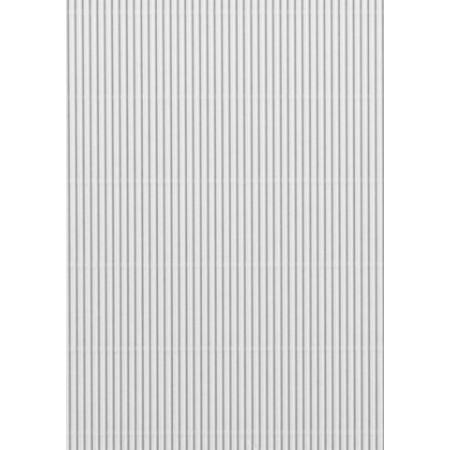Carton ondulé 50x70cm 300g blanc