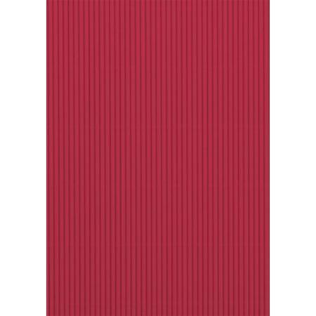 Carton ondulé 50x70 300g rouge moye