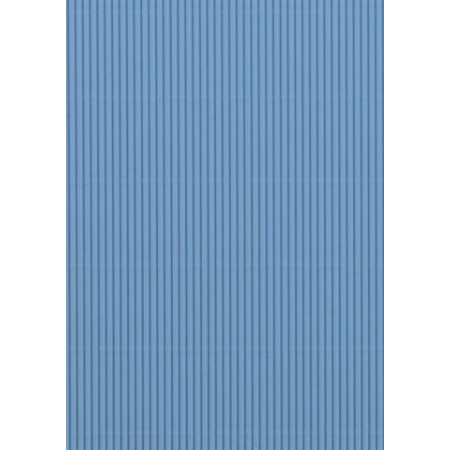 Carton ondulé 50x70 300g bleu clair