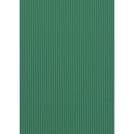 Carton ondulé 50x70 300g vert moyen
