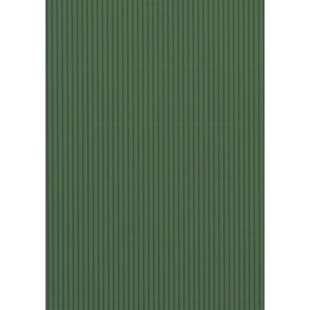 Carton ondulé 50x70 300g vert foncé
