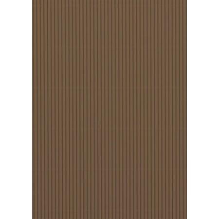 Carton ondulé 50x70 300g marron moyen