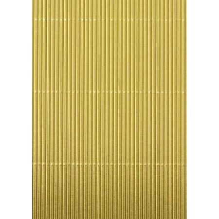 Carton ondulé 50x70 300g doré