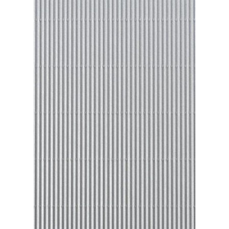 Carton ondulé 50x70 300g argenté