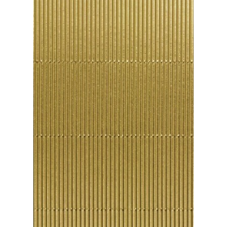 Carton ondulé alu 50x70 doré