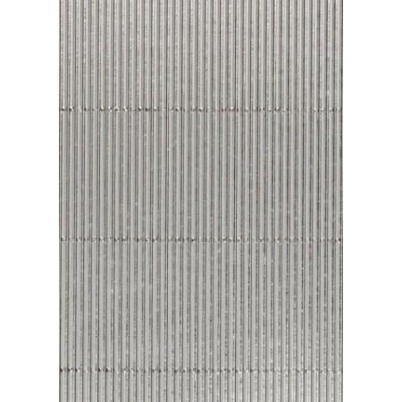 Carton ondulé alu 50x70 argenté