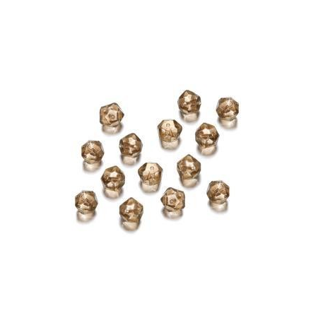 Perles polies Antique nature 7 mm