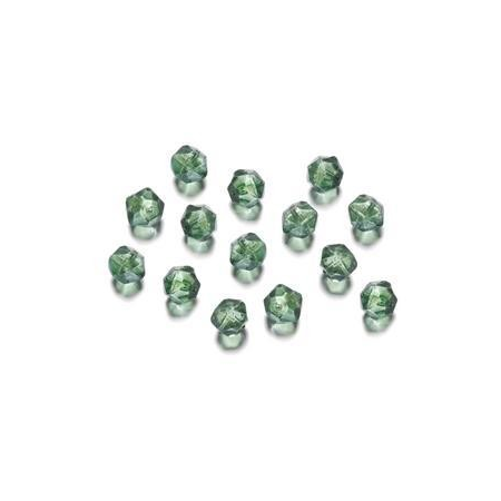 Perles polies Antique vert 7 mm