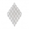 Duo Beads L'aspect cire 2,5 x 5 mm blanc