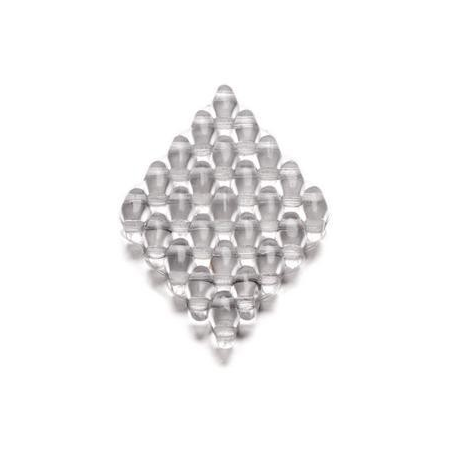 Duo Beads 2 trous 2,5 x 5 mm cristal transparent 12g