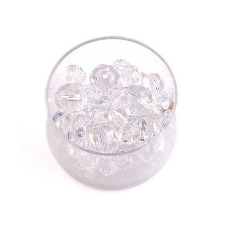 Perles en verre poli mix crystal