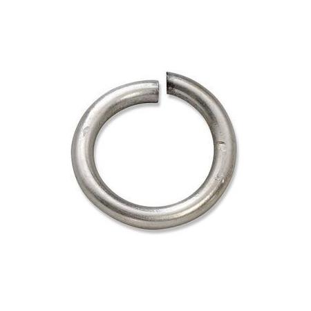 Anneau en métal solide14x2mm